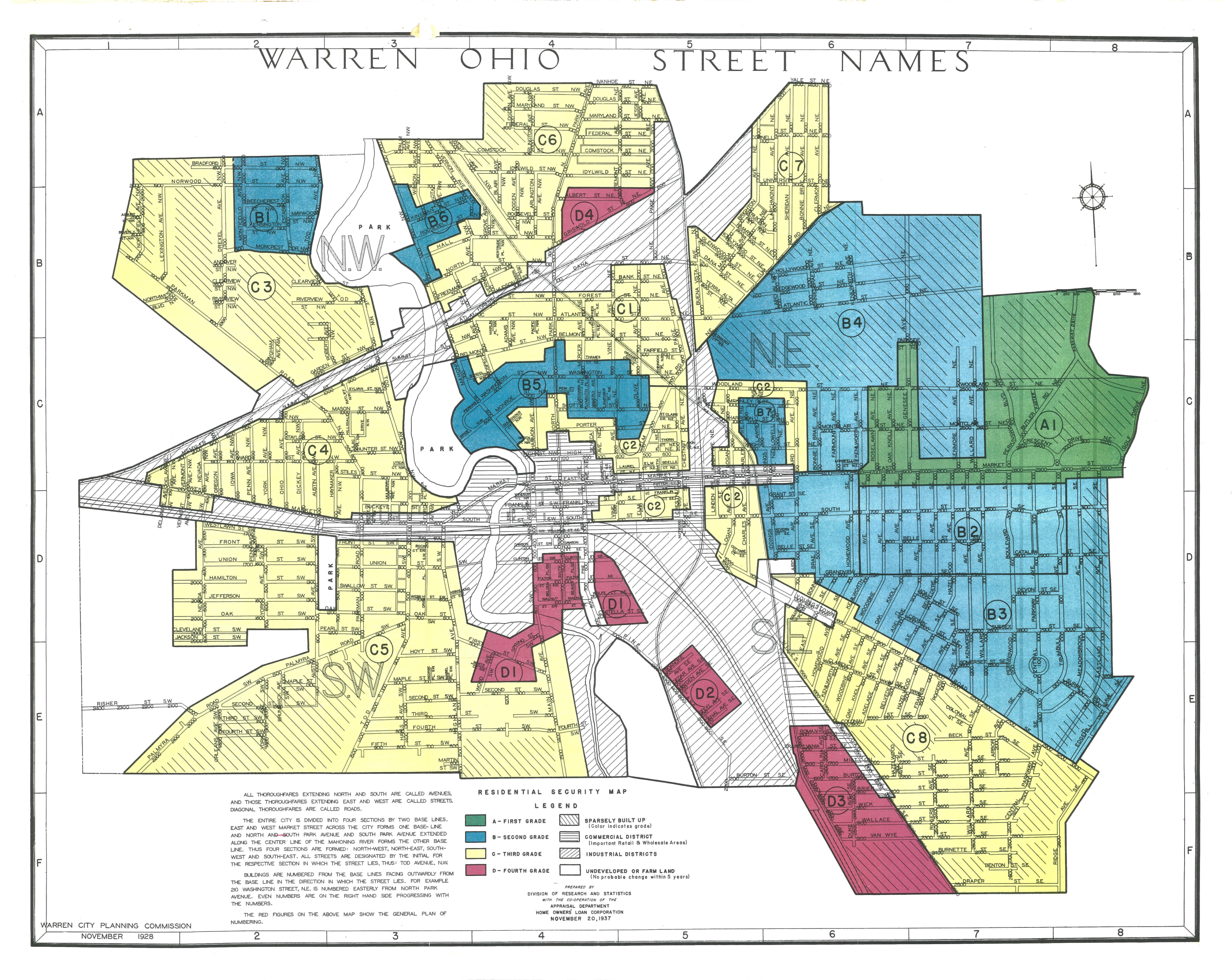 Redlining Maps Maps Geospatial Data Research Guides At Ohio