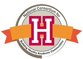 National Consortium for Building Healthy Academic Communities logo image