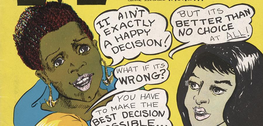 35. Roe v. Wade Comics