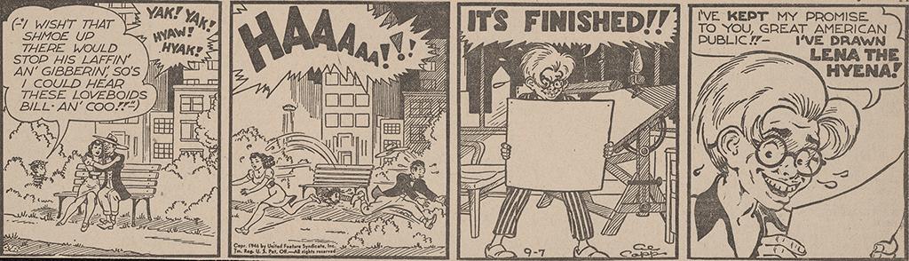 Li'l Abner daily strip