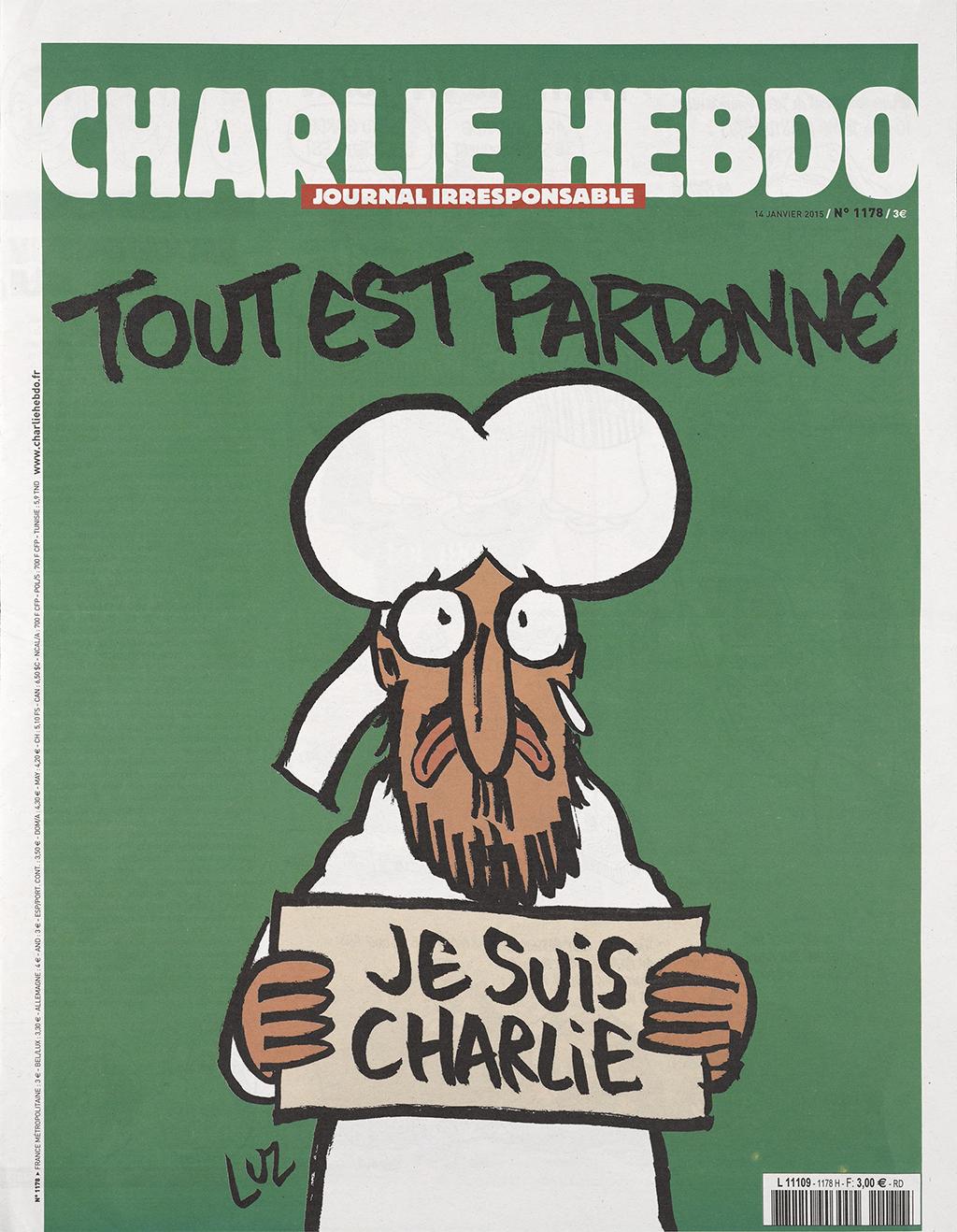 Cover of Charlie HebdoIssue No. 1178