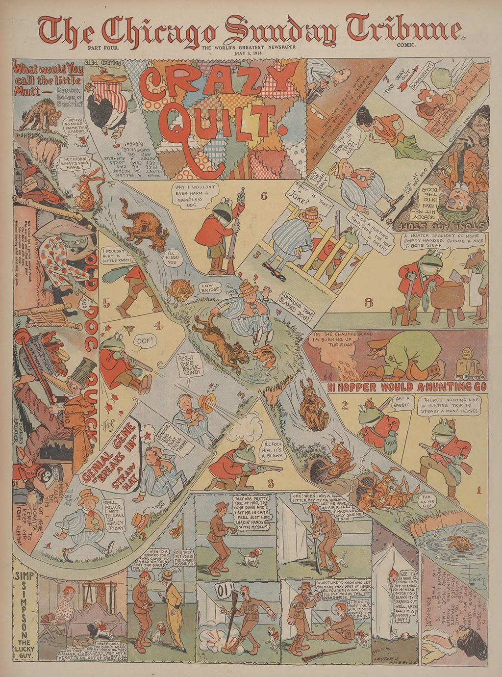The Chicago Sunday Tribune comic Crazy Quilt