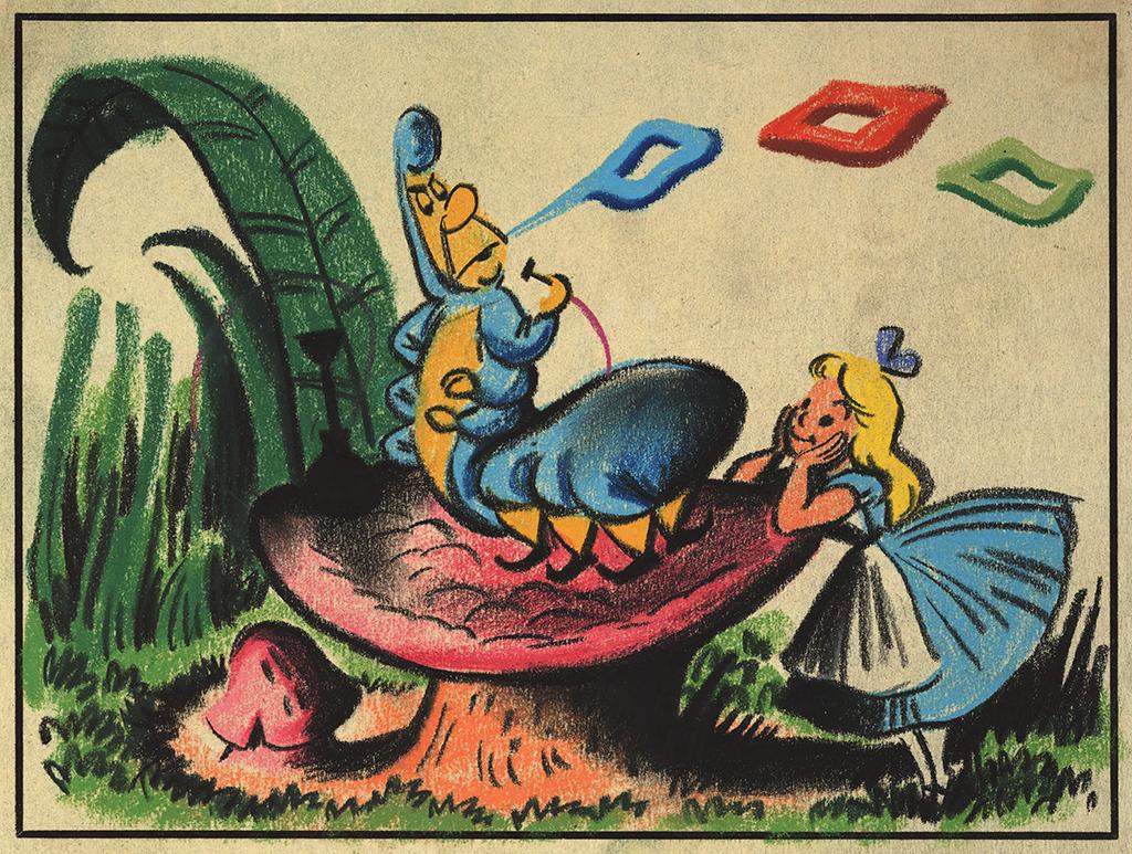 Pastel of Alice