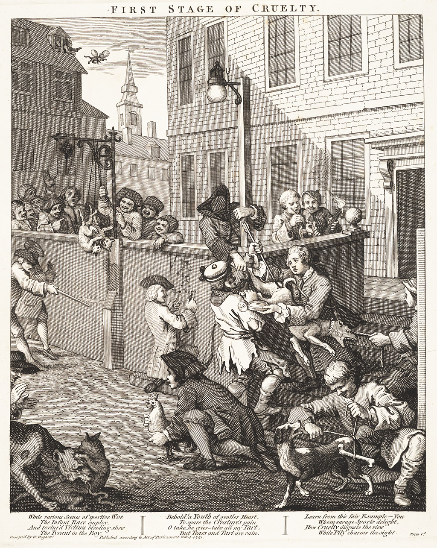 First Hogarth cartoon
