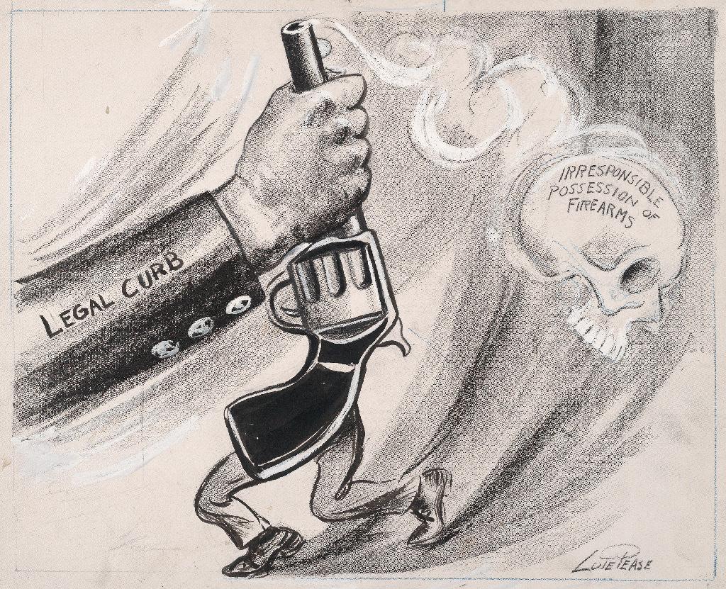 Pease cartoon