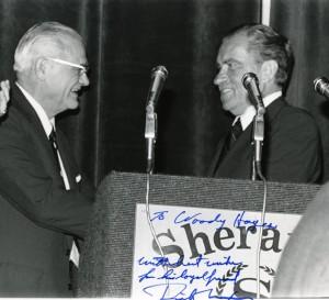 Hayes with President Richard Nixon, n.d.