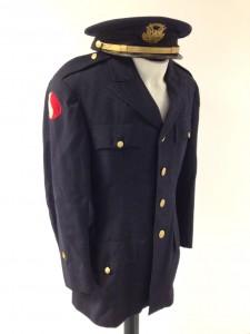 Naddy's ROTC uniform