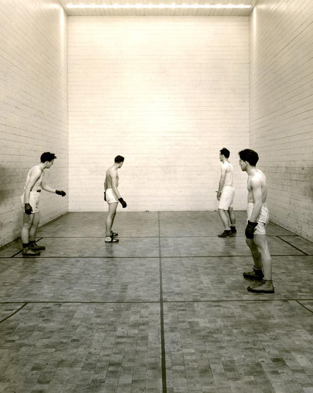 Handball court in Larkins, nd