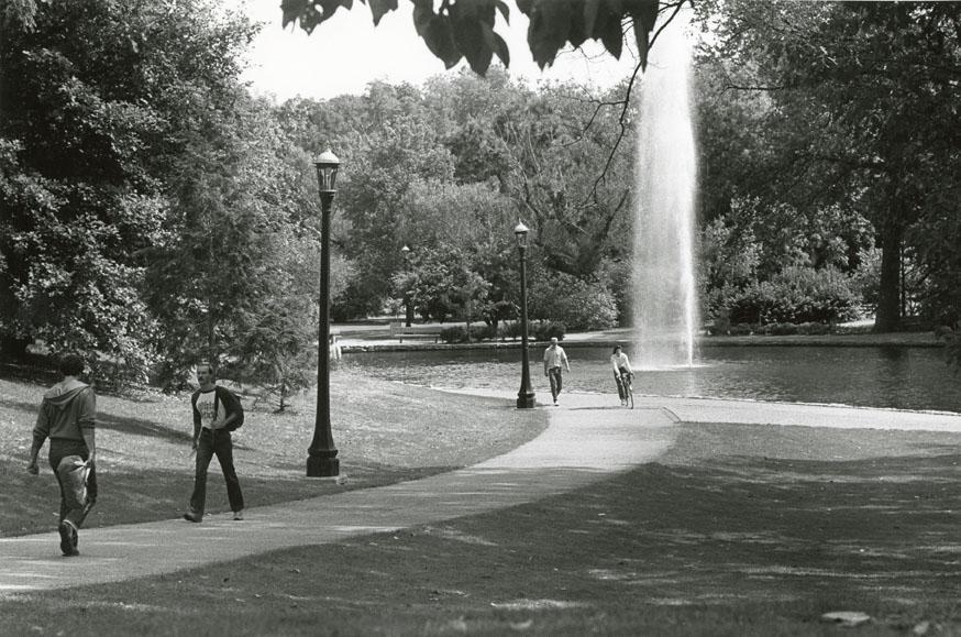 Mirror Lake in 1982.