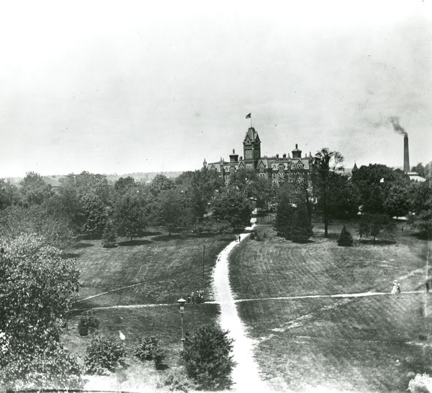 University Hall, 1897