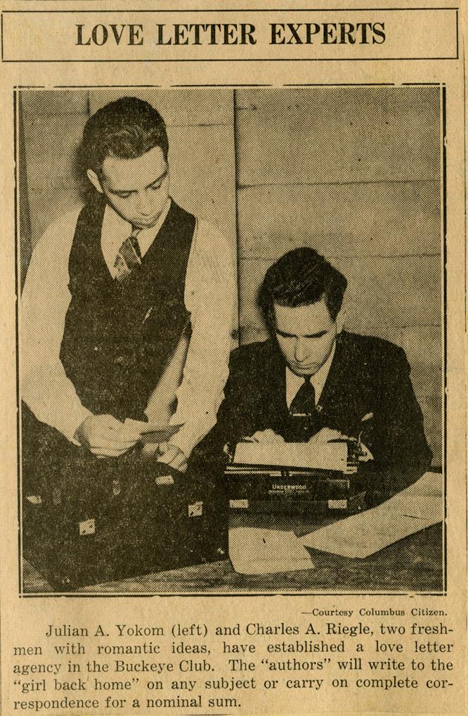 1938_reigle_yokom_newsclipping