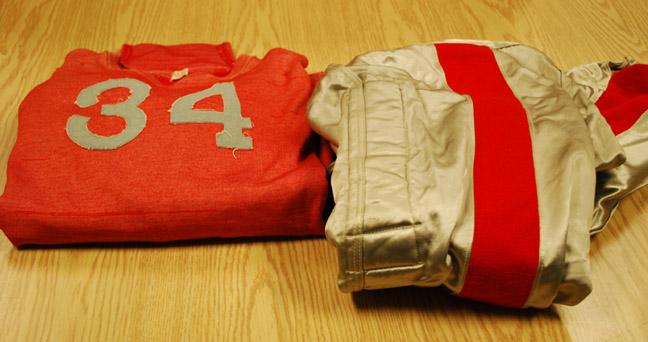 Grundie's football uniform