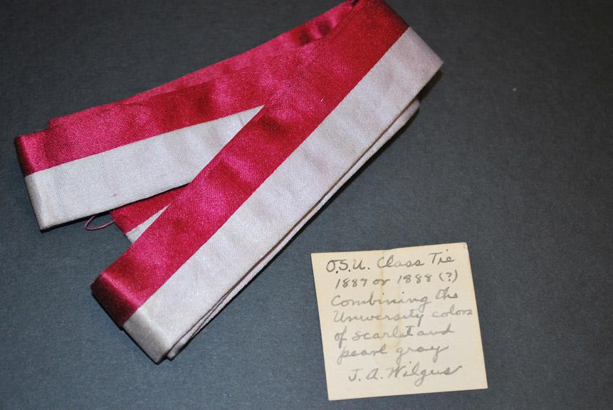 Wilgus' tie, c1887-1888
