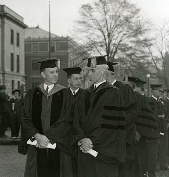 Inaugural procession, 1940