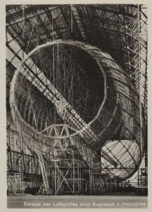 Incomplete Graf Zeppelin frame