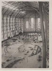 frame of the Graf Zeppelin