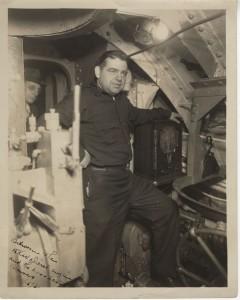 Chief Radioman, Ray Meyers.