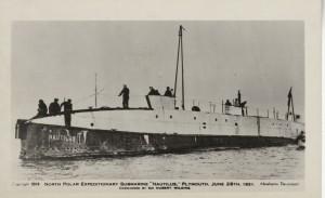 Postcard of the Nautilus.