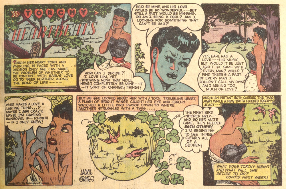 Jackie Ormes' Torchy in Heartbeats