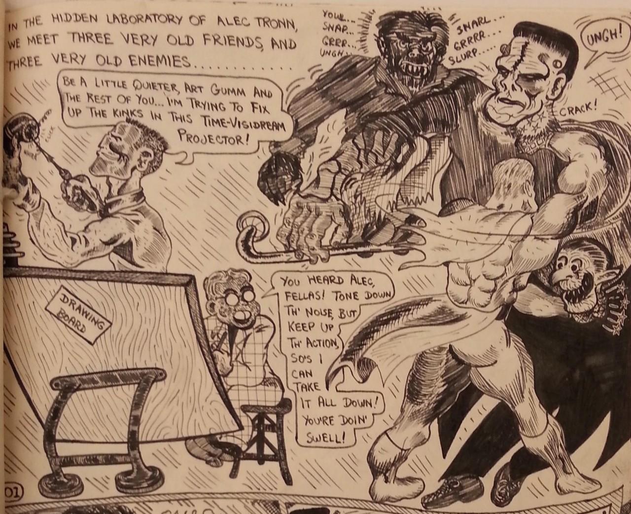 CartoonistsAndCharacters