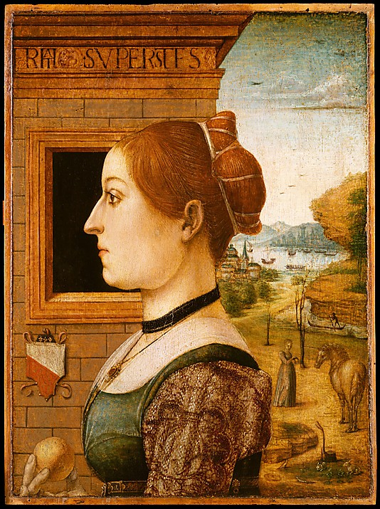 Portrait of a Woman, possibly Ginevra d'Antonio Lupari Gozzadini from The Metropolitan Museum of Art