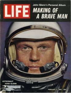 """John Glenn's Personal Album"" Life magazine cover"
