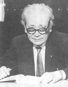 Tokugawa in 1961, from 「徳川夢声と出会った」