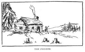 "Van Loon's ""The Pioneer"" illustration"