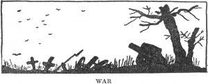 "Van Loon's ""War"" illustration"