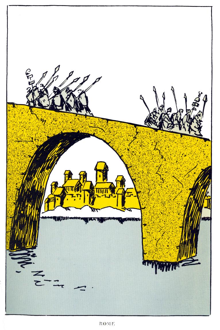"""""""Rome,"""" facing p. 126"""