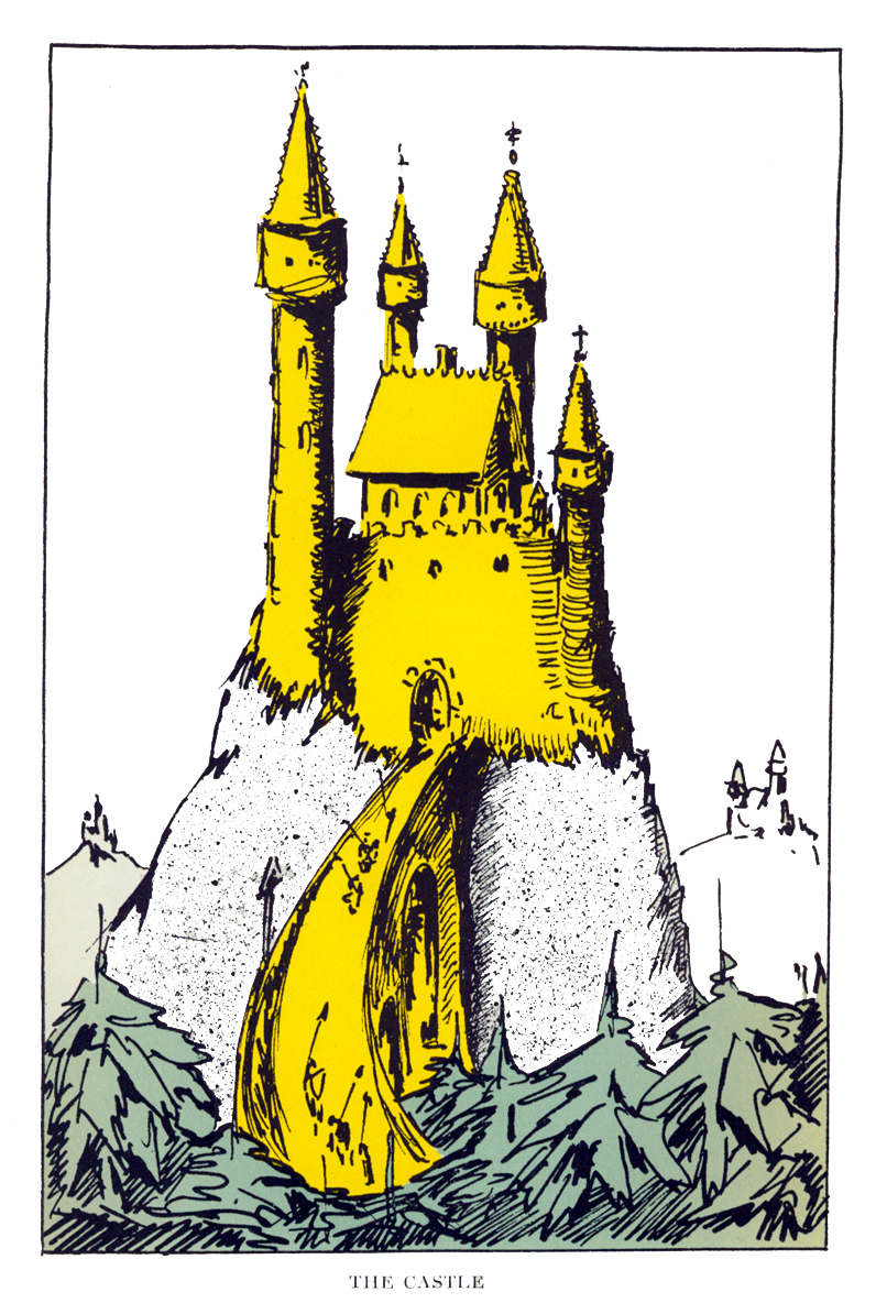 """The Castle,"" facing p. 164"