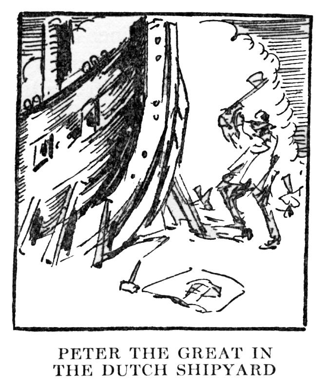 """Peter the Great in the Dutch Shipyard,"" p. 308"