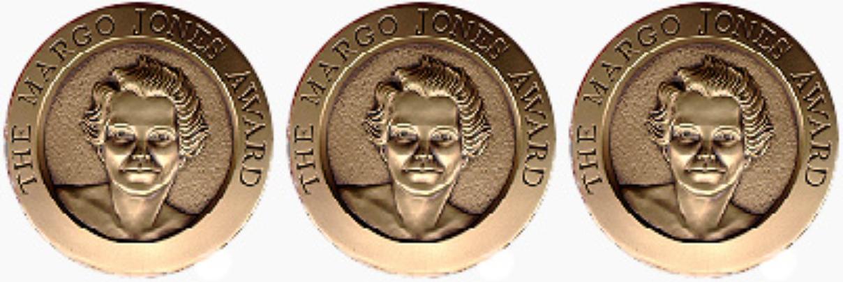 Margo Jones Award medal