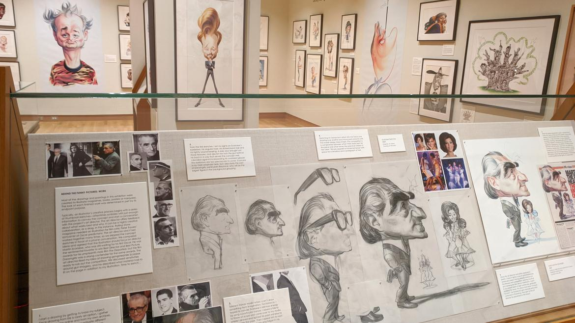 Scorsese Process Case in Making Faces Exhibition
