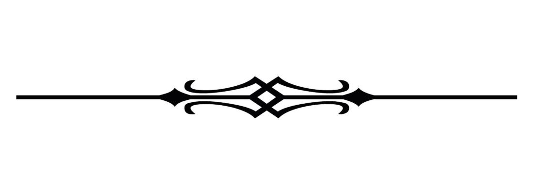 decorative line to divide sections