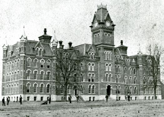 University Hall, 1874