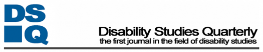 Disability Studies Quarterly