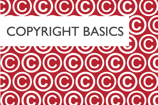 Copyright Basics ebook cover