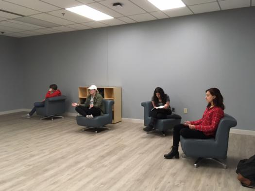 Wellness Room in 18th Avenue Library