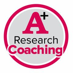 A+ Research Coaching Logo
