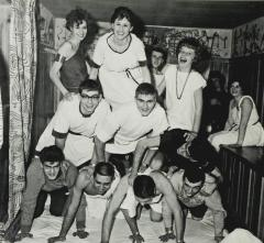Students in Pyramid